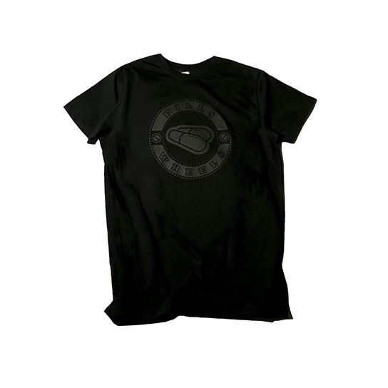 черная футболка PILLS LOGO BLACK