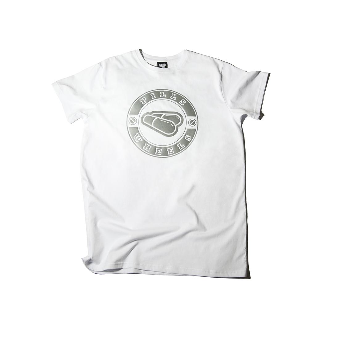 белая футболка REFLECTIVE PILLS