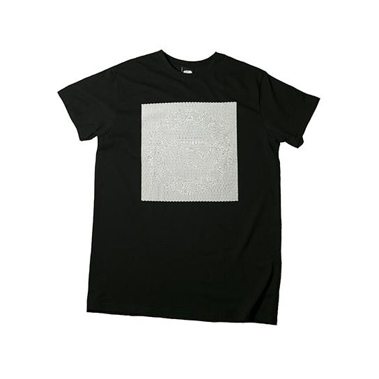 черная футболка LS25