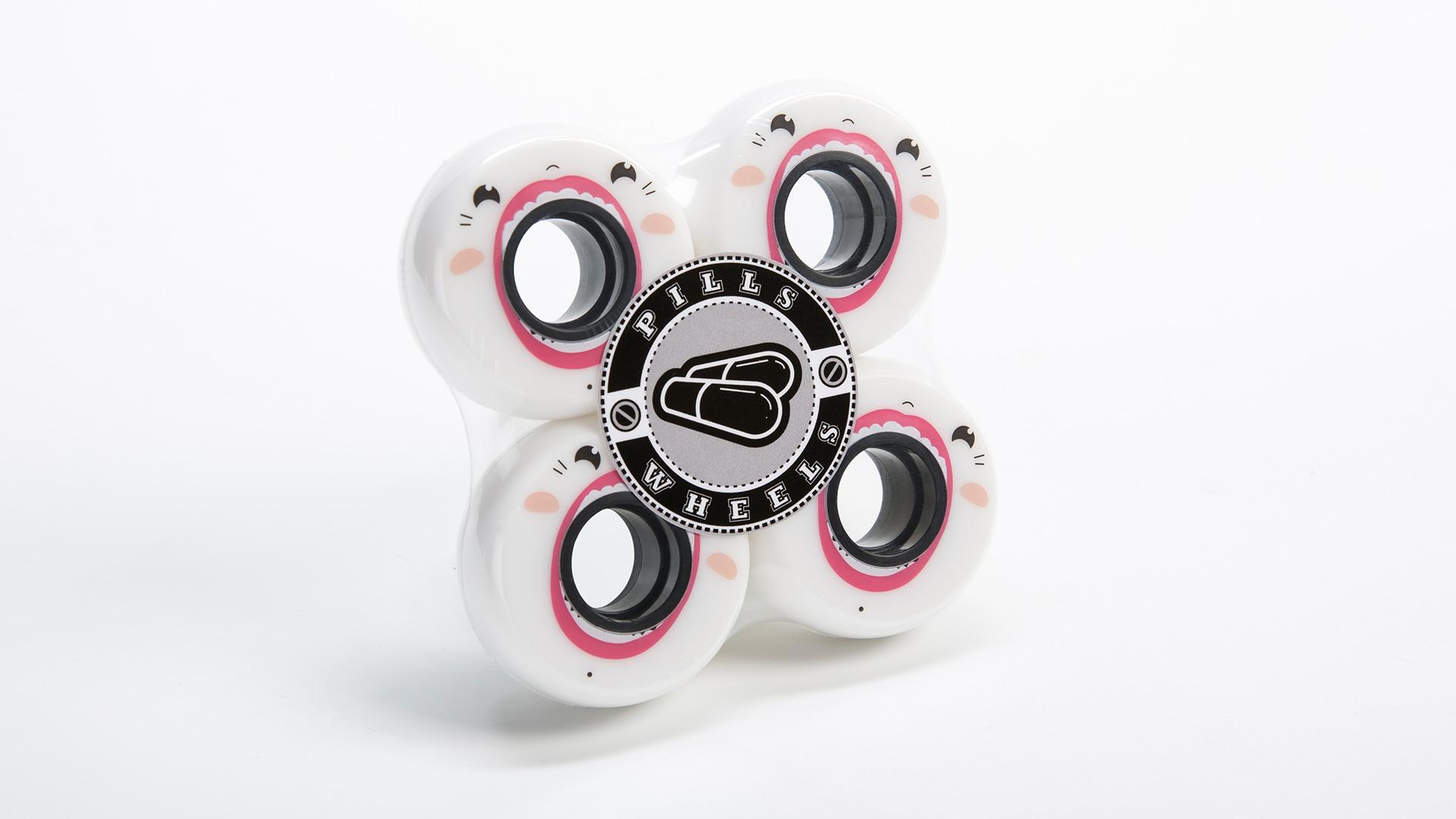 колеса для роликов Face 57 мм 90А в упаковке